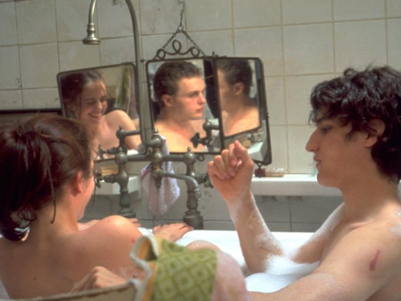 кадр из фильма мечтатели